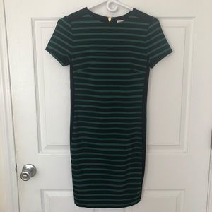 Michael Kors Navy and Green Dress Size XXS
